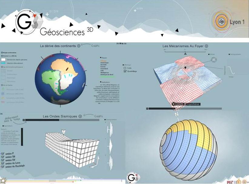 Géosciences 3D