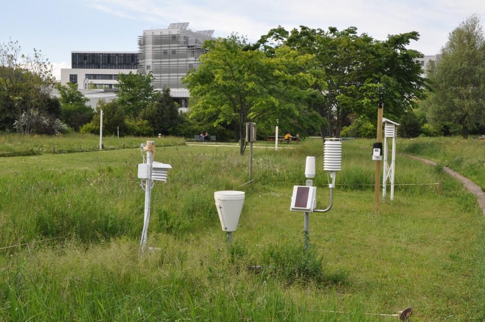 Le parc météorologique de l'Ens de Lyon
