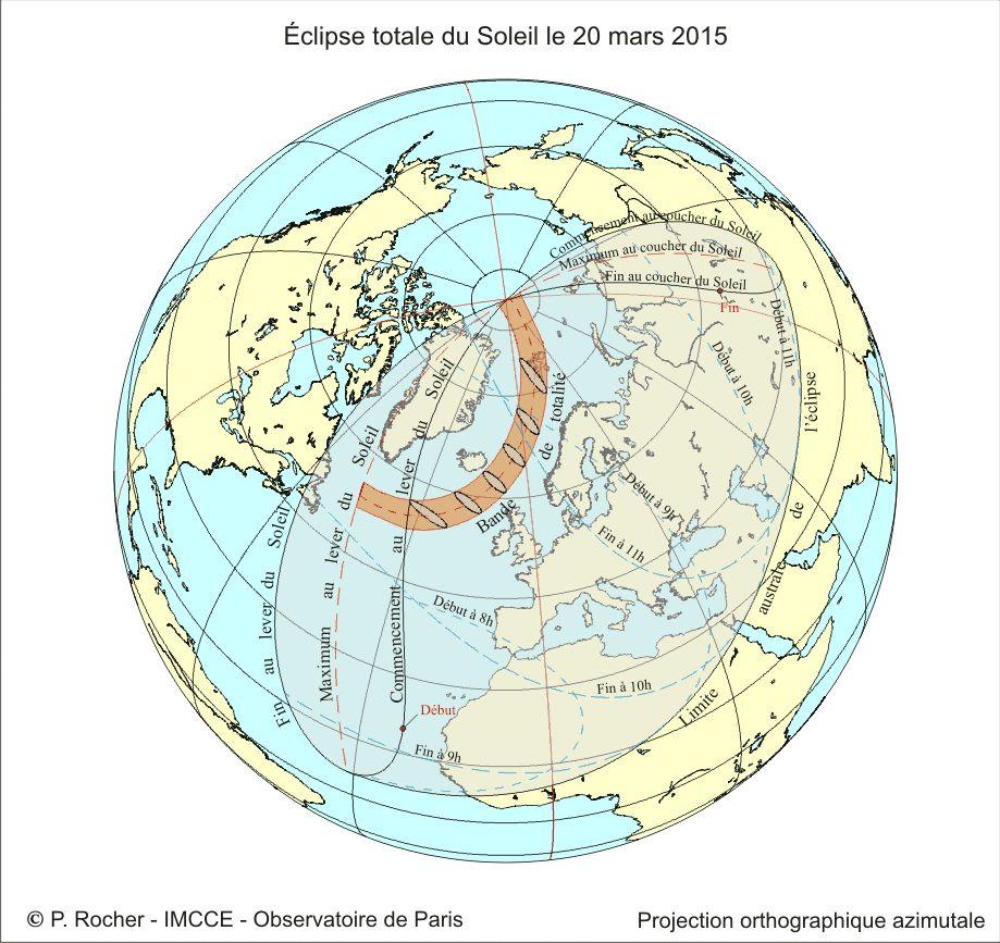 Observation de l'éclipse de soleil du 20 mars 2015