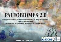 Nouvelle version de Paléobiomes: Paléobiomes 2