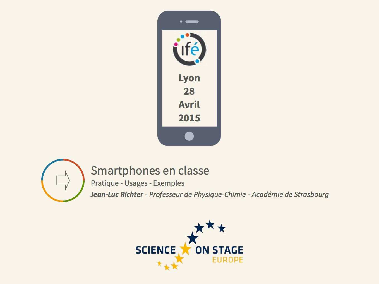 Smartphones en classe: pratique-usages-exemples