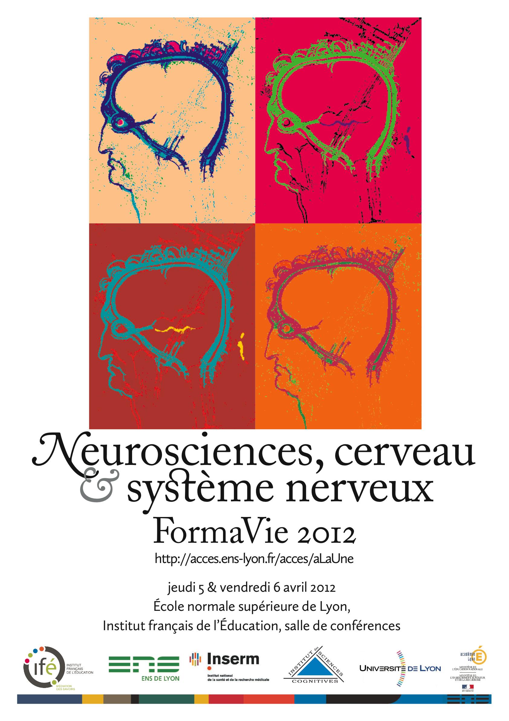 FormaVie 2012 : Neurosciences, cerveau et système nerveux