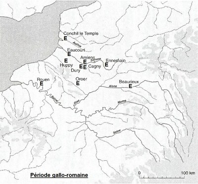 répartition de l'épeautre en RP et dans le Nord à la période gallo-romaine_imag brute
