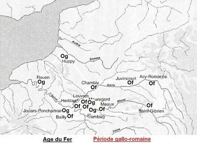 répartition de l'orge en RP et dans le Nord à l'âge du Fer et à l'époque gallo-romaine_imag brut