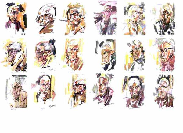 Autoportraits de l'artiste