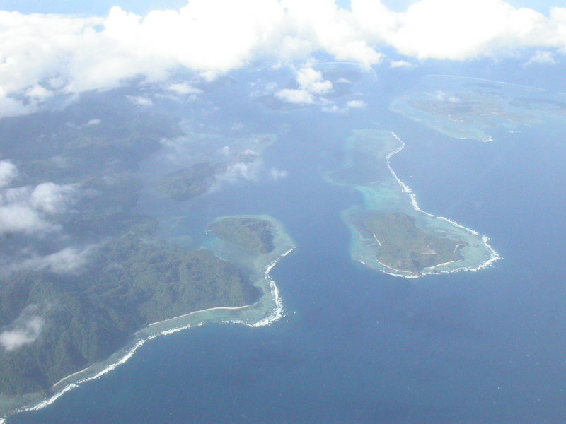 Vue aérienne.Photographie de SE