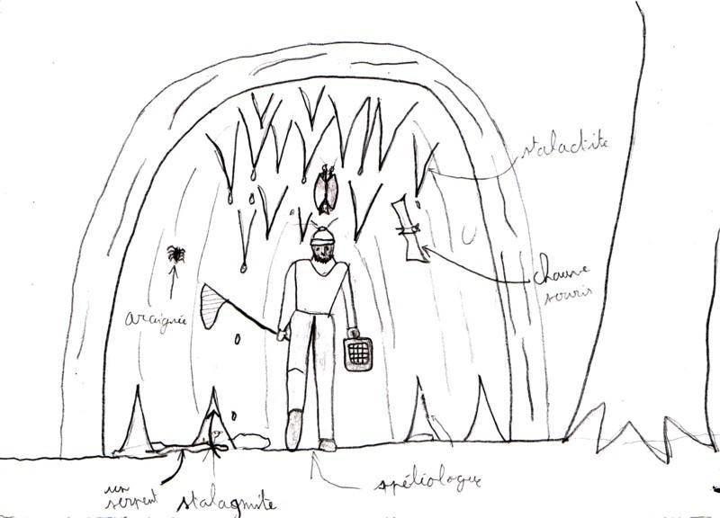 représentation grotte 3