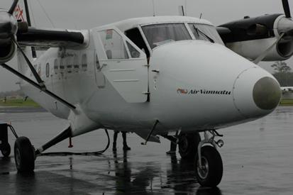 Vol Port Vila - Lugganville