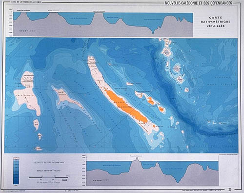 Localisation géographique du Vanuatu et de la Nouvelle-Calédonie