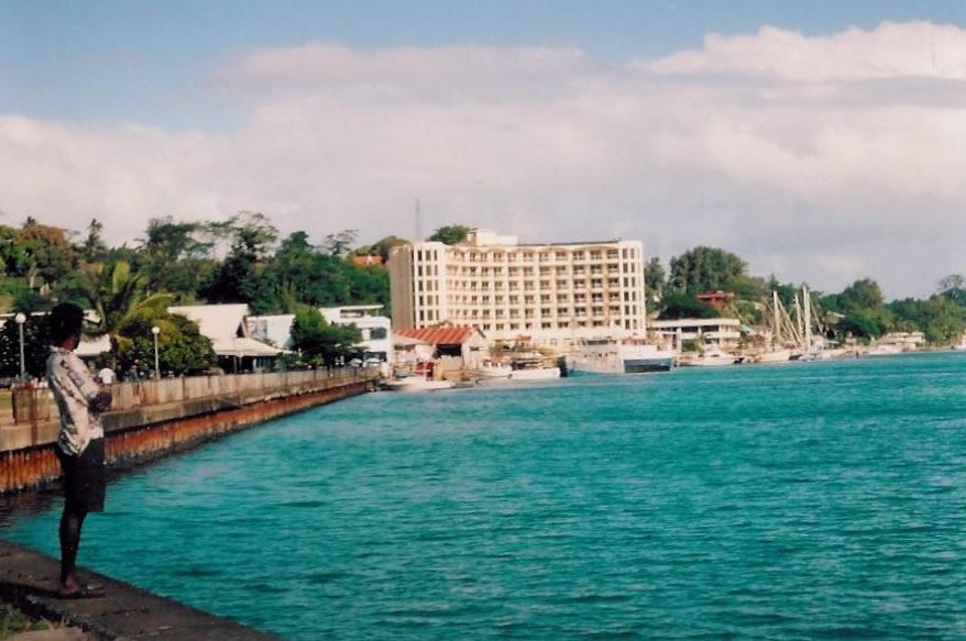 Baie de Port Vila (photo Marie Lory)